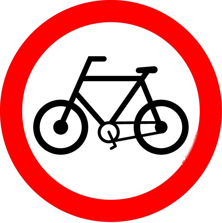 Circulacao exclusiva de bicicletas