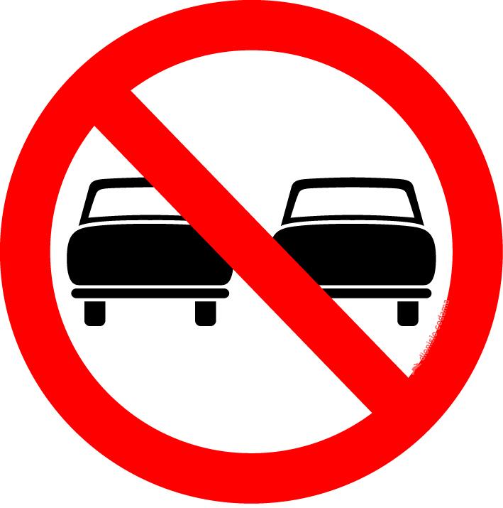 Proibido ultrapassar