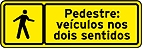 Advertencia para pedestres button 1