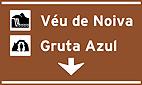 Placa Indicativa de sentido (direçao) - Posicionamento na pista