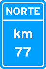 Placa de Identificacao quilometrica 02