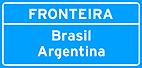 Placa de Identificacao de limite de Municipios, divisa de Estados, fronteira, perimetro urbano 04