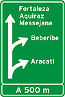 Placa de Orientacao de Destino - Placa diagramada 01