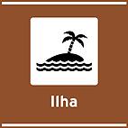 Atrativos turisticos naturais - TNA-03 - Ilha