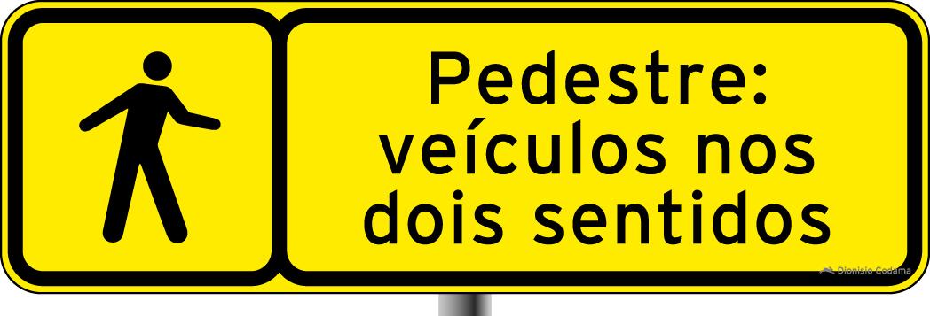 Sinalizacao especial para pedestres 1