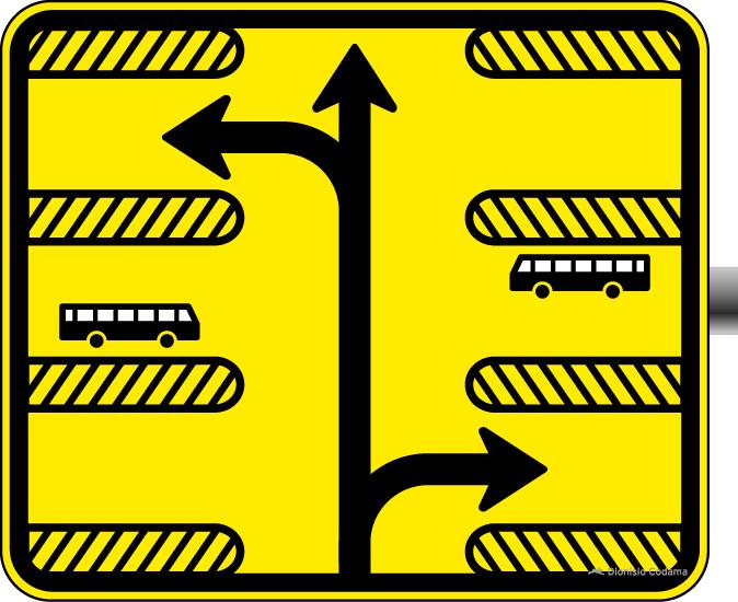 Placa de trânsito - Sinalização Especial de Advertência ...