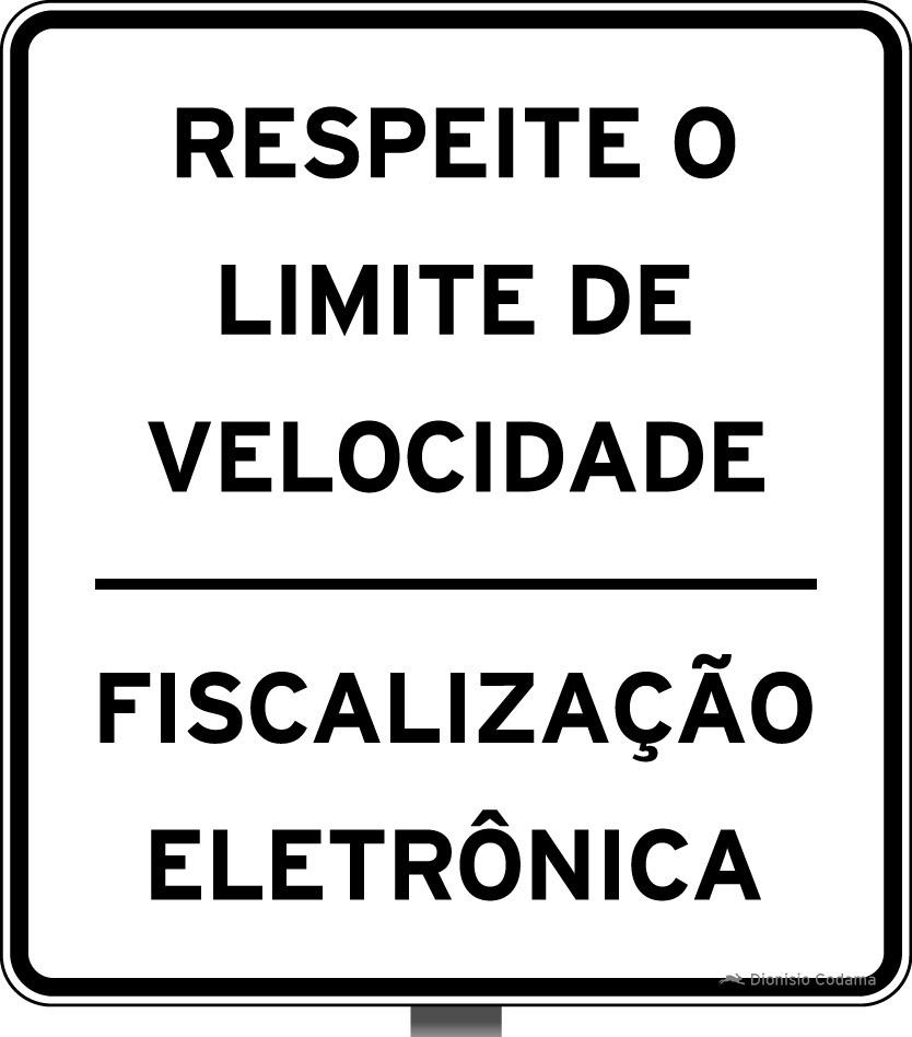 Placa fiscalizacao eletronica 4