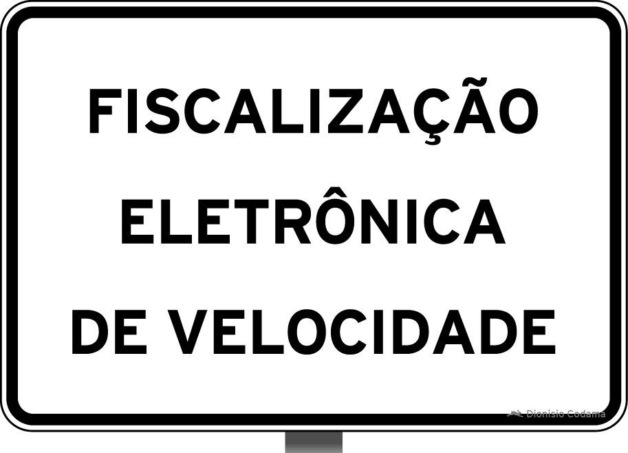 Placa fiscalizacao eletronica 5