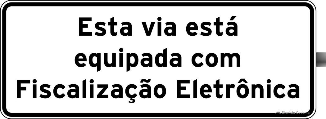 Placa fiscalizacao eletronica 6