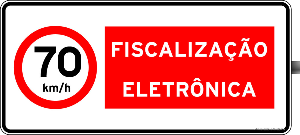 Placa fiscalizacao eletronica 8