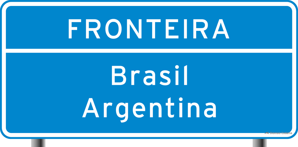 Identificacao de limite de Municipios, divisa de Estados, fronteira, perimetro urbano 4