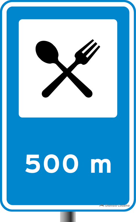 Placa de trânsito - Placas de Serviços Auxiliares - Placa ...
