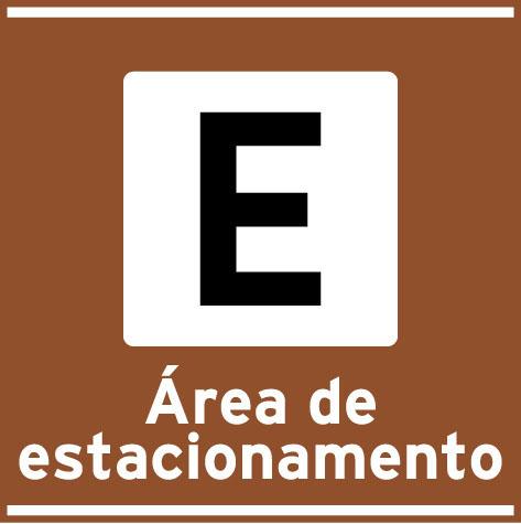 Area de estacionamento