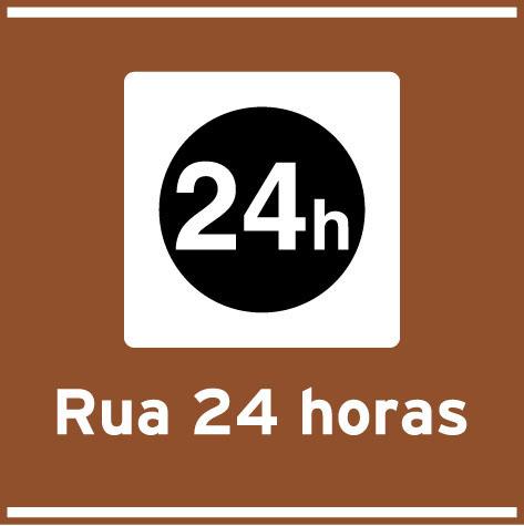 Rua 24 horas