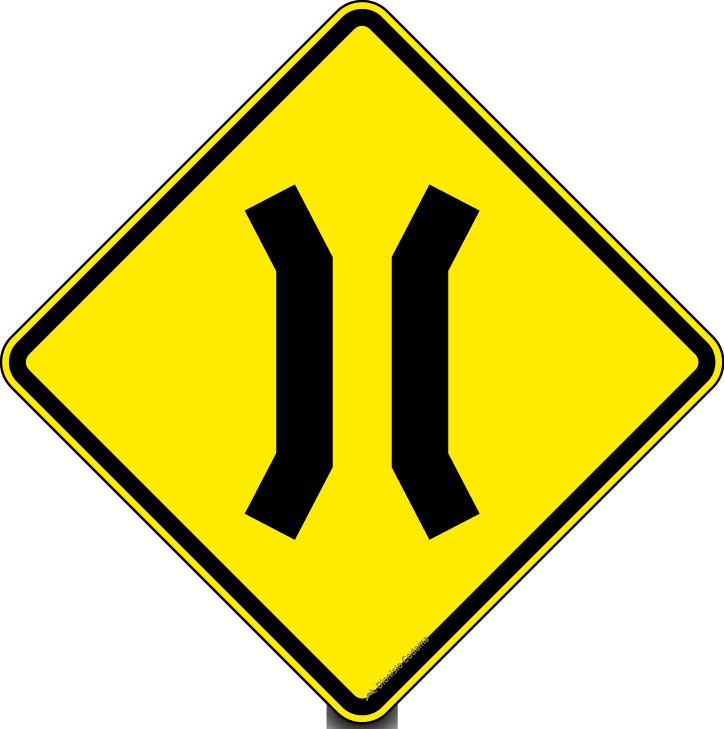 Ponte estreita