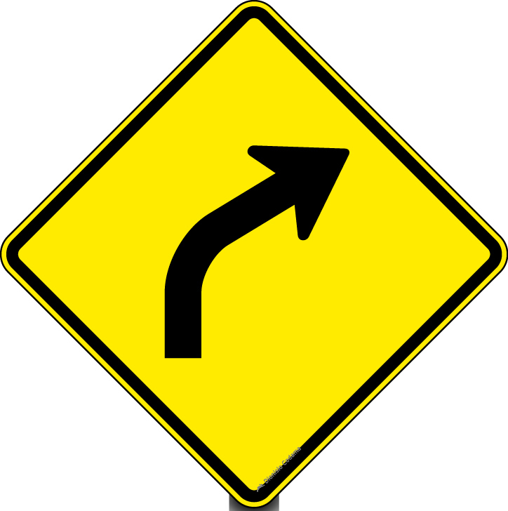 Curva a direita