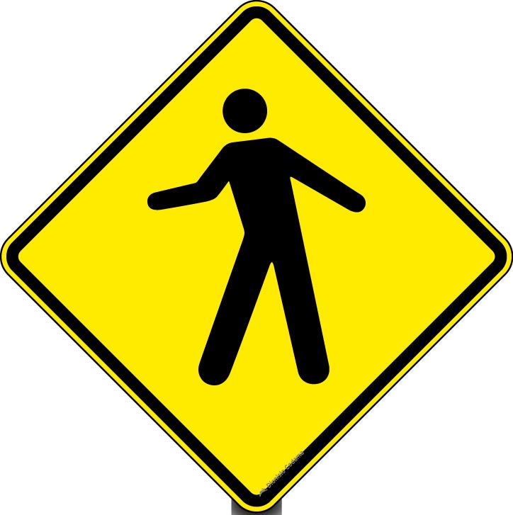 Transito de pedestres