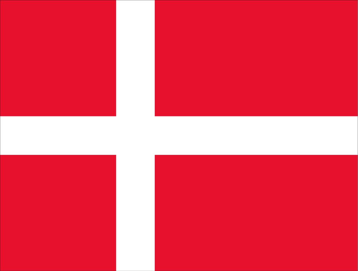 Bandeira Dinamarca