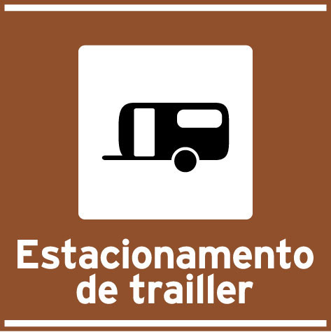 Estacionamento de trailler