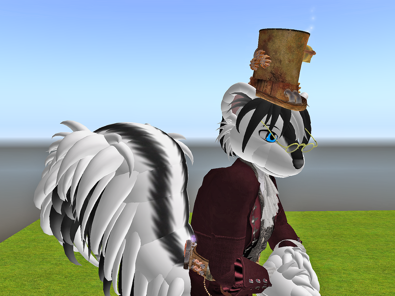 Roger at second life #1