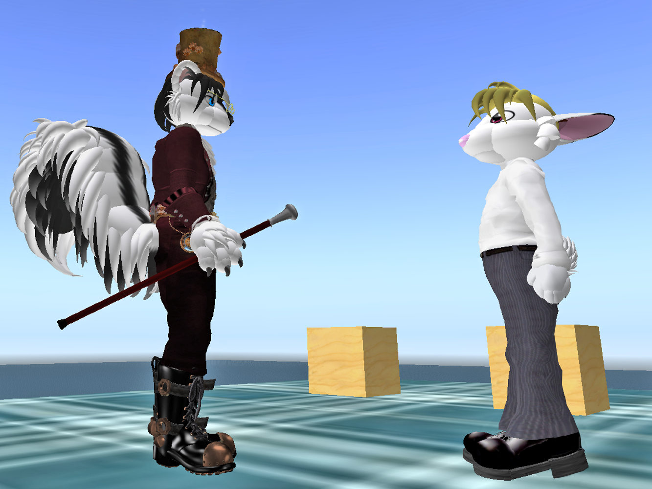 Roger at second life #4